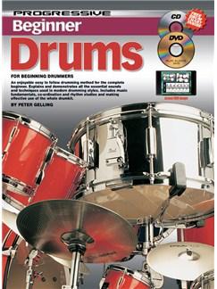 Progressive Beginner Drums Books, CDs and DVDs / Videos | Drums