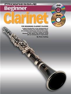 Progressive Beginner Clarinet Books, CDs and DVDs / Videos | Clarinet