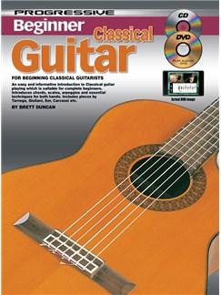 Progressive Beginner Classical Guitar Books, CDs and DVDs / Videos | Guitar, Classical Guitar