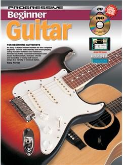 Progressive Beginner Guitar Books, CDs and DVDs / Videos | Guitar