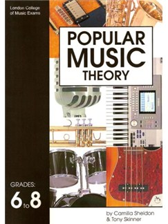 London College Of Music Popular Music Theory Grade 6-8 Books | All Instruments