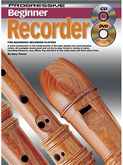 Progressive Beginner Recorder Books, CDs and DVDs / Videos | Recorder