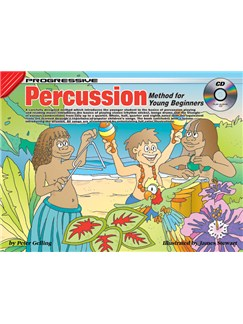 Progressive Percussion Method For Young Beginners Books and CDs | Percussion