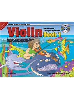 Progressive Violin Method For Young Beginners: Book 1 Books and CDs   Violin