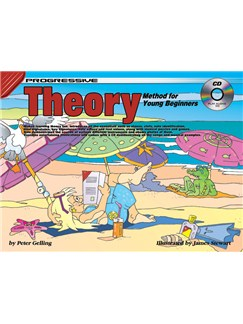 Progressive Theory Method For Young Beginners Books and CDs | All Instruments