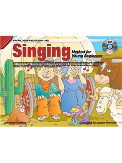 Progressive Singing Method For Young Beginners Books and CDs | Voice