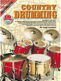Progressive Country Drumming Books and CDs | Drums