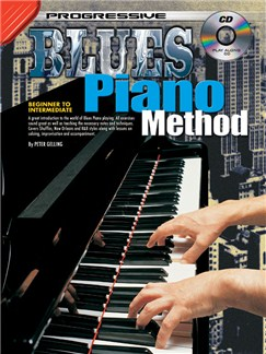Progressive Blues Piano Method Books and CDs | Piano