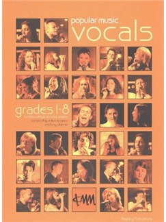 Popular Music Vocals Grades 1 To 8 Books | Voice