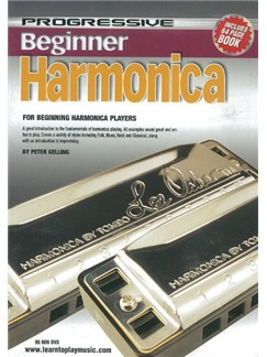 Progressive: Beginner Harmonica (DVD With Small Booklet) Books and DVDs / Videos | Harmonica