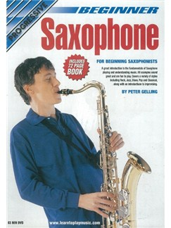 Progressive: Beginner Saxophone (DVD With Small Booklet) Books and DVDs / Videos | Saxophone