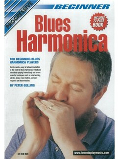 Progressive: Beginner Blues Harmonica (DVD With Small Booklet) Books and DVDs / Videos | Harmonica