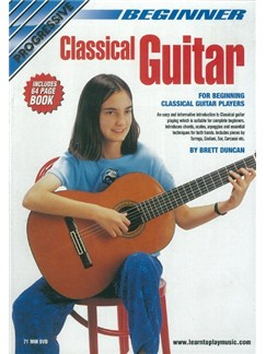 Progressive: Beginner Classical Guitar (DVD With Small Booklet) Books and DVDs / Videos | Classical Guitar