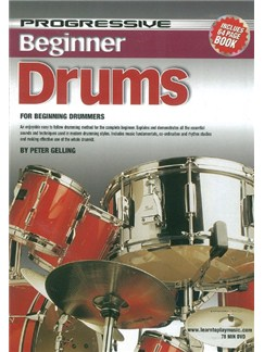 Progressive: Beginner Drums (DVD With Small Booklet) Books and DVDs / Videos | Drums