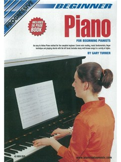 Progressive: Beginner Piano (DVD With Small Booklet) Books and DVDs / Videos | Piano