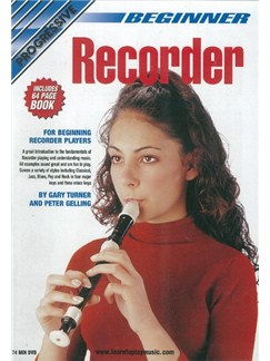 Progressive: Beginner Recorder (DVD With Small Booklet) Books and DVDs / Videos | Recorder