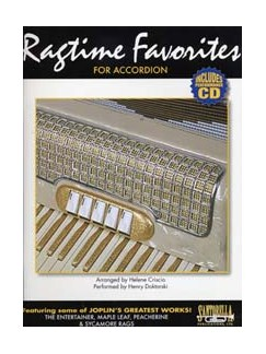 Ragtime Favourites For Accordion Books | Accordion