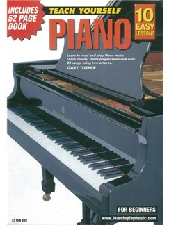 10 Easy Lessons: Teach Yourself Piano (DVD With Small Booklet) Books and DVDs / Videos | Piano