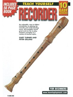 10 Easy Lessons: Teach Yourself Recorder (DVD With Small Booklet) DVDs / Videos | Recorder