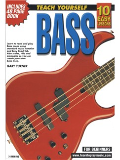 10 Easy Lessons: Teach Yourself Bass (DVD With Small Booklet) Books and DVDs / Videos | Bass Guitar