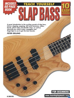 10 Easy Lessons: Teach Yourself Slap Bass (DVD With Small Booklet) Books and DVDs / Videos | Bass Guitar
