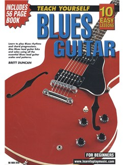 10 Easy Lessons: Teach Yourself Blues Guitar (DVD With Small Booklet) Books and DVDs / Videos | Guitar