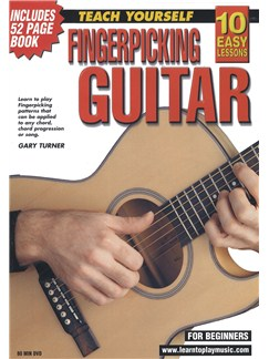 10 Easy Lessons: Teach Yourself Fingerpicking (DVD With Small Booklet) Books and DVDs / Videos | Guitar