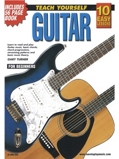 10 Easy Lessons: Teach Yourself Guitar (DVD With Small Booklet) Books and DVDs / Videos | Guitar