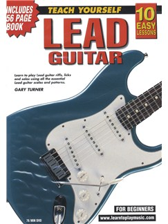 10 Easy Lessons: Teach Yourself Lead Guitar (DVD With Small Booklet) Books and DVDs / Videos | Guitar