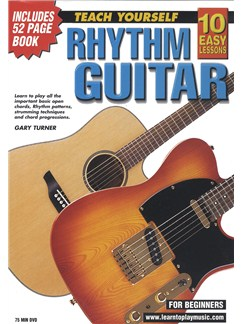 10 Easy Lessons: Teach Yourself Rhythm Guitar (DVD With Small Booklet) Books and DVDs / Videos | Guitar