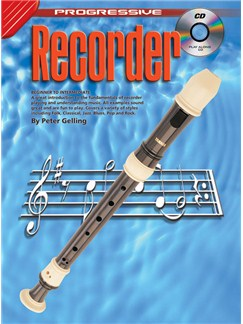Progressive Recorder Books and CDs | Recorder