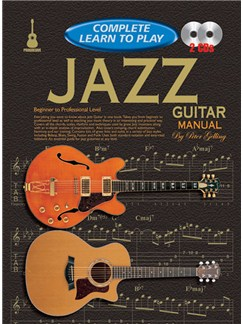 Progressive Complete Learn To Play Jazz Guitar Manual Books and CDs | Guitar