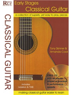 Early Stages Classical Guitar (Book/CD) Books and CDs | Classical Guitar