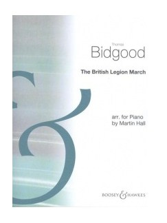 Thomas Bidgood: British Legion March Books | Piano