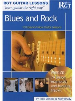 Registry Of Guitar Tutors Guitar Lessons: Blues And Rock (Book/CD) Books and CDs | Guitar
