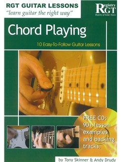 Registry Of Guitar Tutors Guitar Lessons: Chord Playing (Book/CD) Books and CDs | Guitar