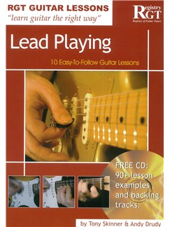 Registry Of Guitar Tutors Guitar Lessons: Lead Playing (Book/CD) Books and CDs | Guitar
