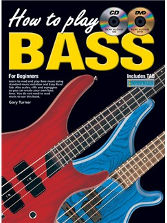 How To Play Bass Books, CDs and DVDs / Videos | Bass Guitar