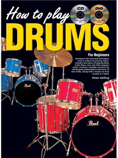 How To Play Drums Books and CDs | Drums