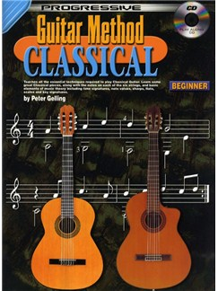 Progressive Classical Guitar Method For Beginners Books and CDs | Guitar, Classical Guitar