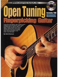 Progressive Open Tuning For Fingerpicking Books and CDs | Guitar