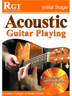 Registry of Guitar Tutors: Acoustic Guitar Playing - Initial Stage (Book and CD) Books and CDs | Acoustic Guitar/Guitar