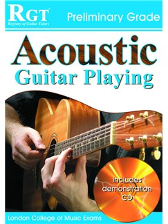 Registry of Guitar Tutors: Acoustic Guitar Playing - Preliminary Grade (Book/CD) Books and CDs | Acoustic Guitar, Guitar