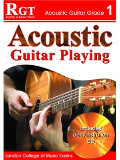 Registry of Guitar Tutors: Acoustic Guitar Playing - Grade 1 (Book/CD) Bog og CD | Guitar, Akustisk guitar