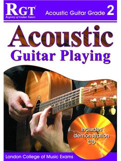 Registry of Guitar Tutors: Acoustic Guitar Playing - Grade 2 (Book/CD) Books and CDs | Guitar, Acoustic Guitar