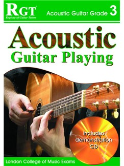 Registry of Guitar Tutors: Acoustic Guitar Playing - Grade 3 (Book and CD) Books and CDs | Guitar, Acoustic Guitar