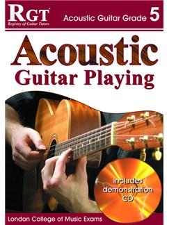 Registry of Guitar Tutors: Acoustic Guitar Playing - Grade 5 (Book and CD) Books and CDs | Guitar/Acoustic Guitar