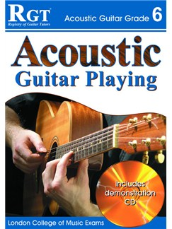Registry of Guitar Tutors: Acoustic Guitar Playing - Grade 6 (Book and CD) Books and CDs | Guitar, Acoustic Guitar