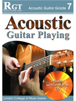 Registry of Guitar Tutors: Acoustic Guitar Playing - Grade 7 (Book and CD) Books and CDs | Guitar, Acoustic Guitar