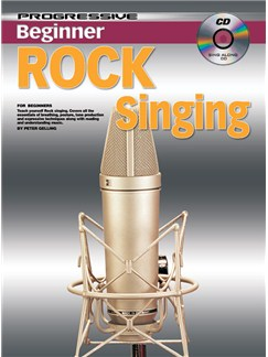 Progressive Beginner Rock Singing Books and CDs | Voice